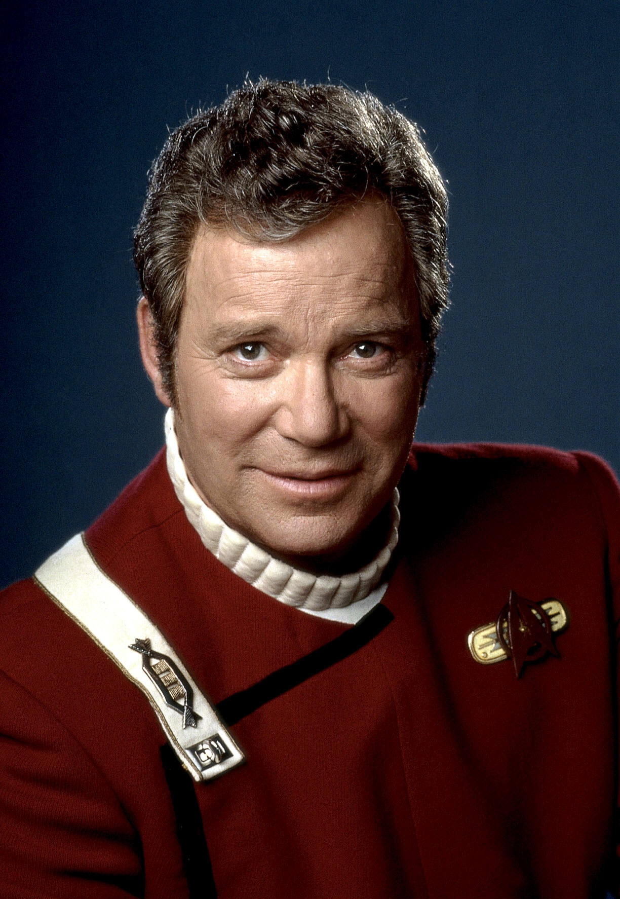 William Shatner without Toupee